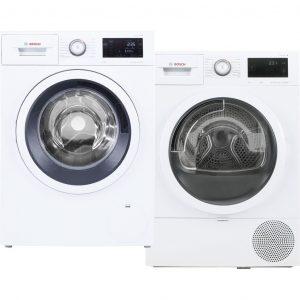 Bosch WAT285C0NL + Bosch WTU876C0NL wasmachine