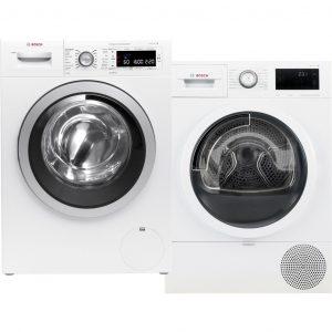 Bosch WAW32642NL i-DOS + Bosch WTU876C0NL wasmachine
