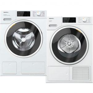 Miele WSI 863 WCS PowerWash 2.0 & TwinDos + Miele TSJ 663 WP wasmachine