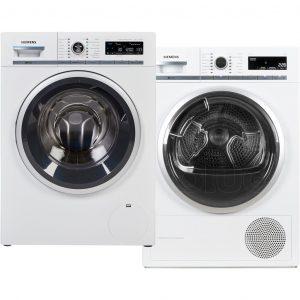 Siemens WM16W672NL iSensoric + Siemens WT47W561NL wasmachine