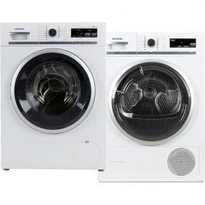 Siemens WM16W790NL sensoFresh + Siemens WT47W561NL wasmachine